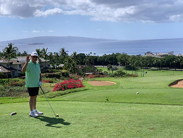 Ted1, Wailea Blue Course, Maui, Jan 2020