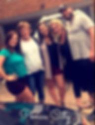 Ryan, Halie, Jacquetta, Kristi and Jenni