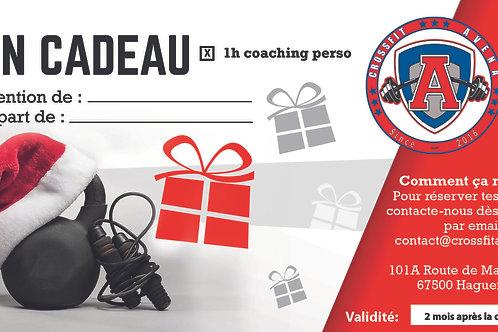 Bon cadeau 1h coaching perso