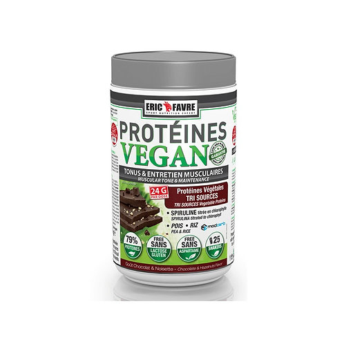 Protéines VEGAN Eric Favre 750g