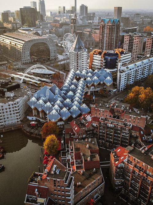 Rotterdam modern architecture