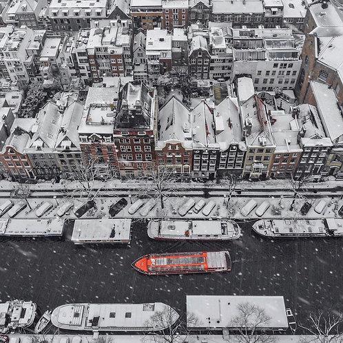 Amsterdam in White