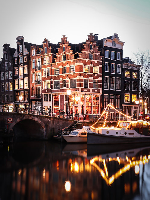 Brouwersgracht in Christmas time