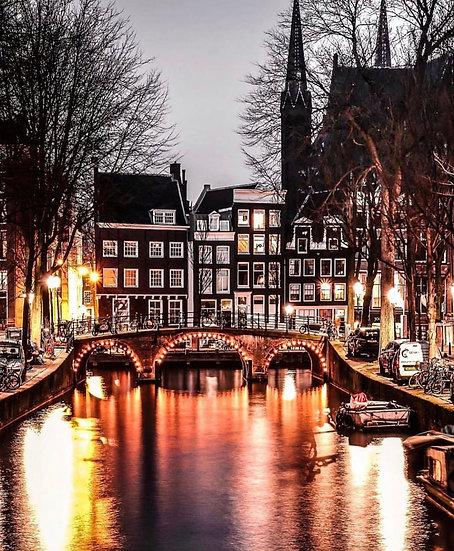 Amsterdam golden nights