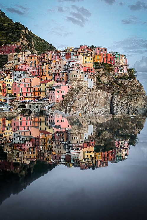 Cinque Terre Reflections