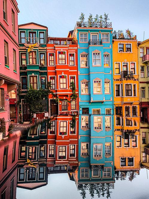 Istanbul - Renkli Evler