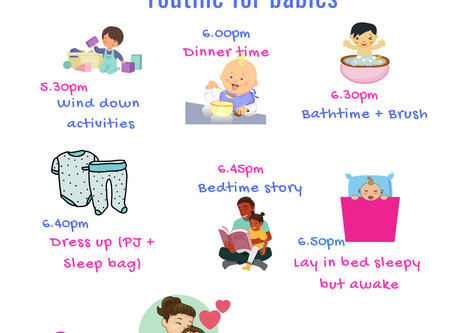How Bedtime Routines Make for Better Baby Sleep