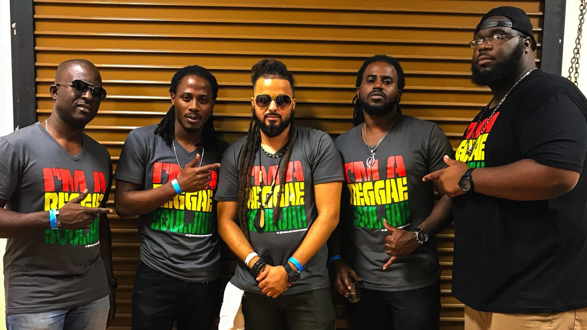 Paul Anthony & The Reggae Souljahs at Reggae4Cure Fest 2018