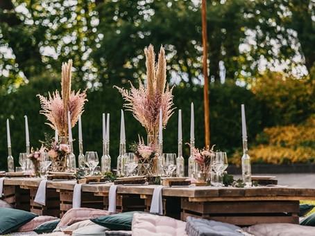 vintage Bruiloft decoratie