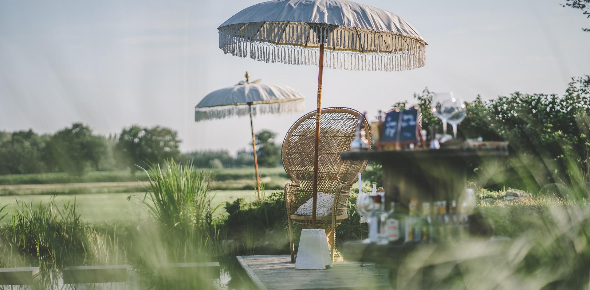 Bay en Elle - Parasols tuinfeest