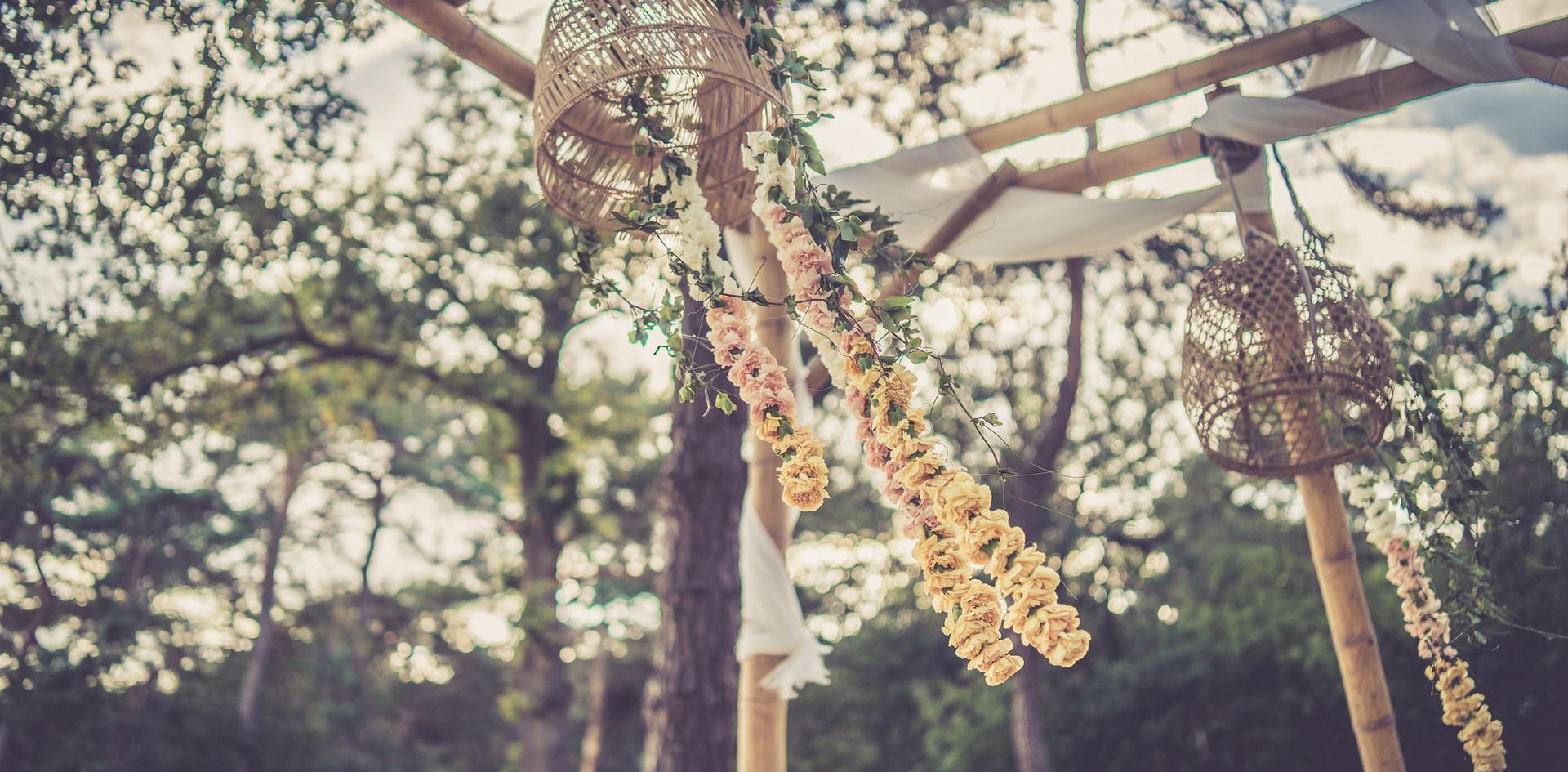bruiloft thema bali