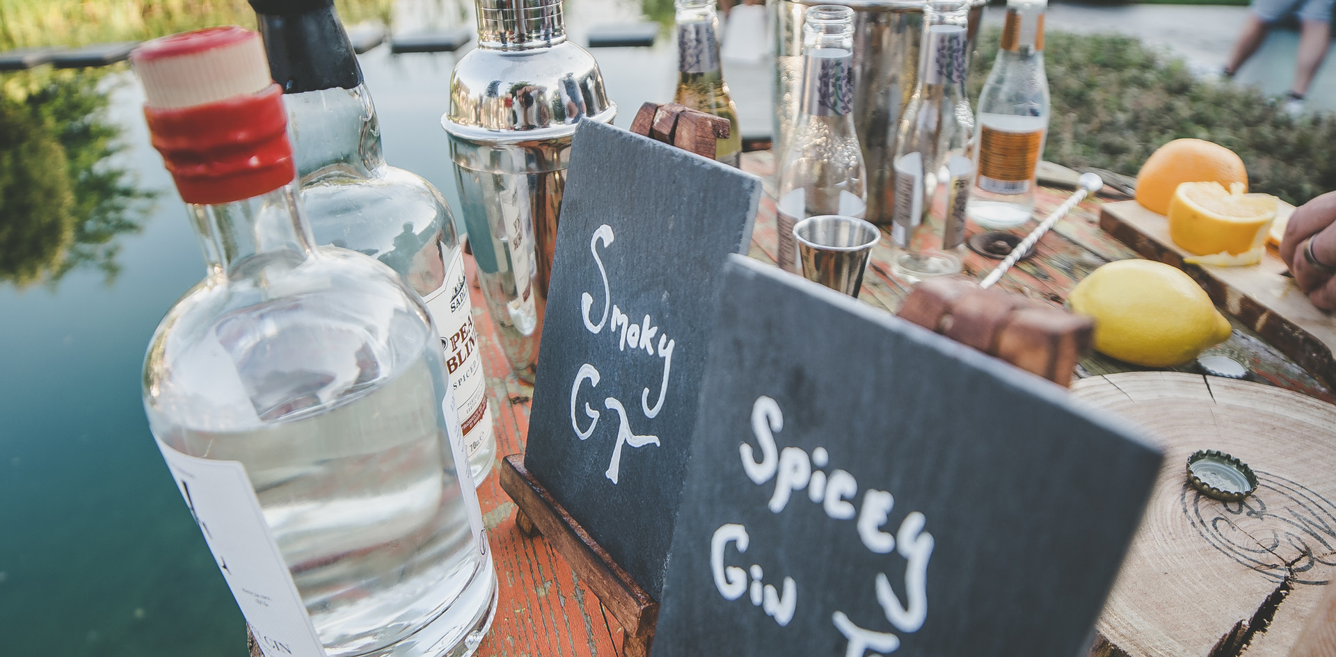 gintonic bar bruiloft