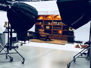 Studio Setting voor online events