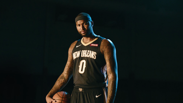 "New Orleans Pelicans ""Swish"""