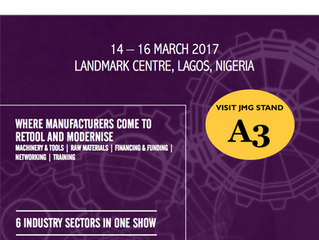 JMG Sponsors the Manufacturing & Equipment Expo 2017