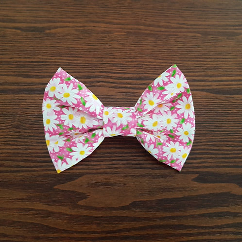 Pink Daisy Bow Tie Priced From