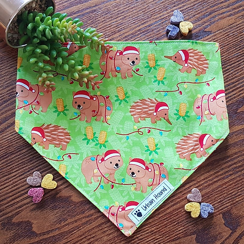Aussie Christmas Bandana Priced From