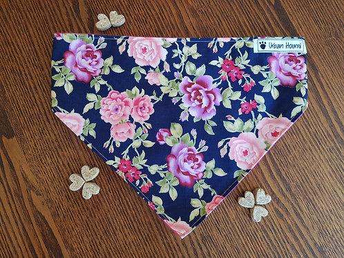 Rose Print Bandana