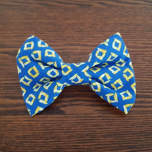 Blue and Yellow Bow Tie Priced From