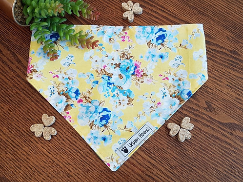 Yellow Floral Bandana Priced From