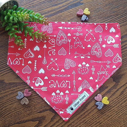 Love Is bandana priced from