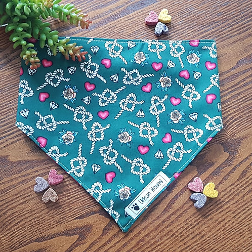 Love Ahoy bandana priced from