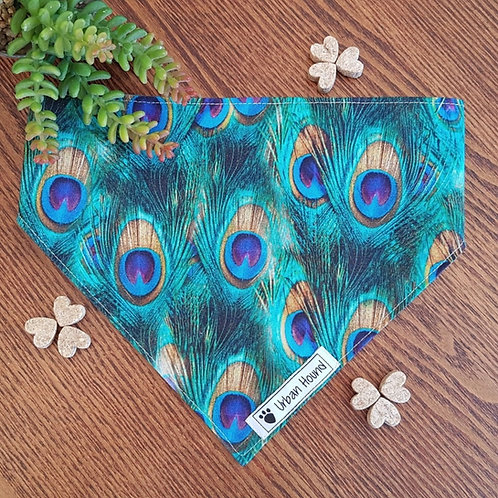 Pretty Peacock Bandana Priced From