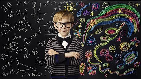 Kid Creativity Education Concept, Child