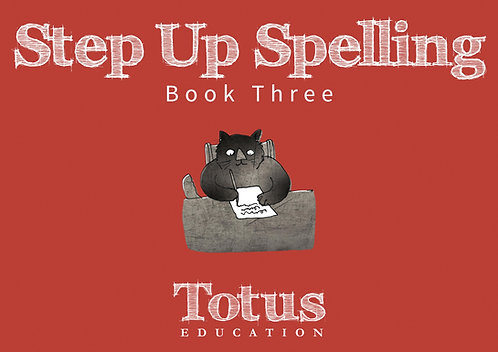 Step Up Spelling 3
