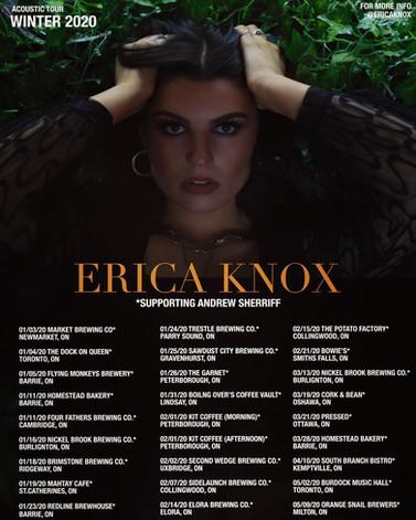 Andrew Sherriff Winter Tour w/ Erica Knox