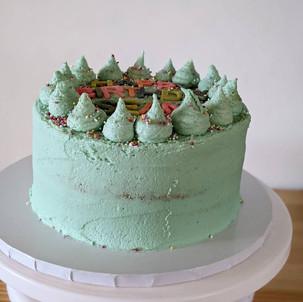 Happy Birthday Buttercream Cake