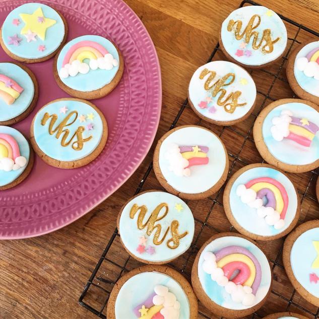 NHS Rainbow Biscuits