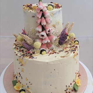 Meadow Flower Birthday Cake