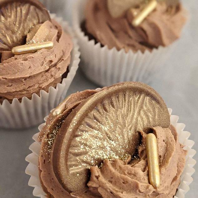 Chocolate Oramge Cupcakes