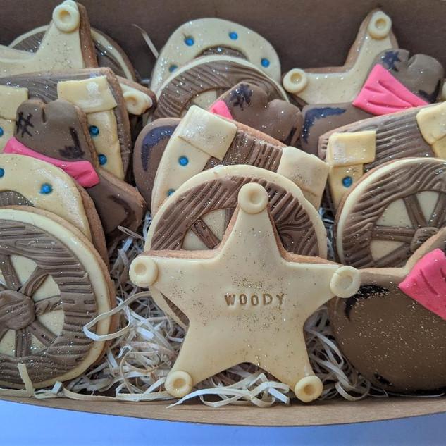 Little Cowboy Biscuit Box
