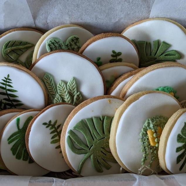 Botanical Biscuit Box