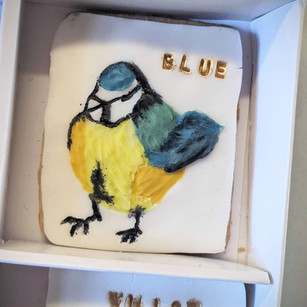 Bird Biscuit Box