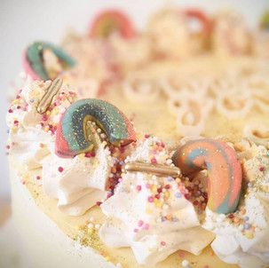 NHS Rainbow Thank You Cake