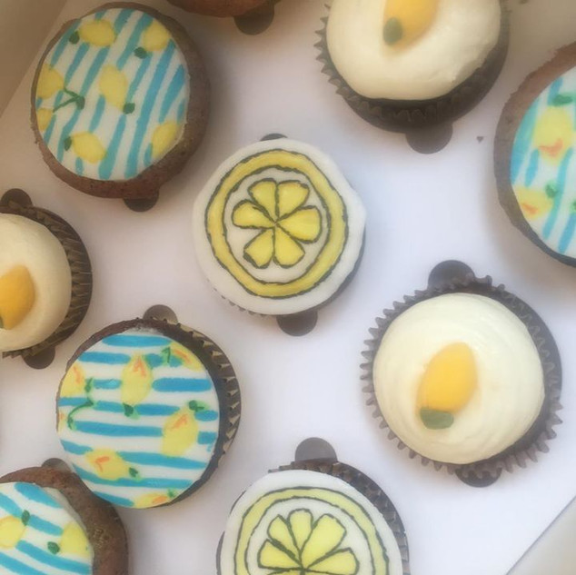 Lemmon Cupcakes