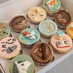 Bespoke Birthday Cupcakes