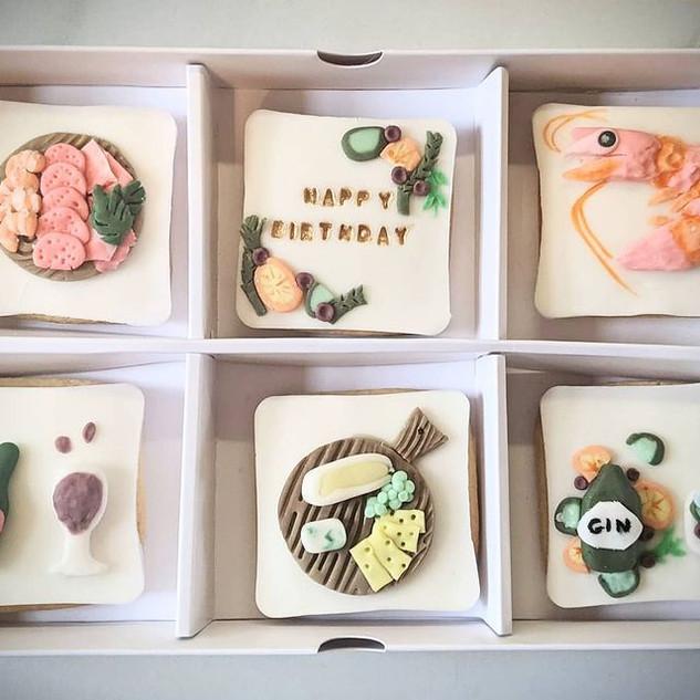 Bespoke Birthday Biscuit Box
