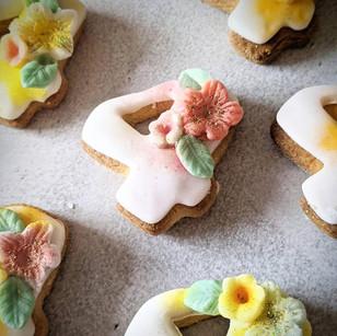 Special 4th Birthday Sugar Cookies