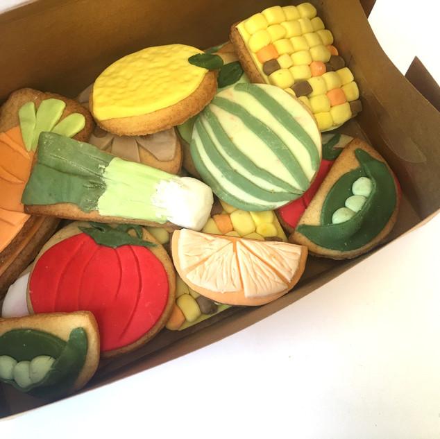 Veg Box Biscuits