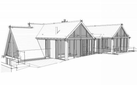 Application submitted for Change of Use, New driveway and substantial extension to existing cottage