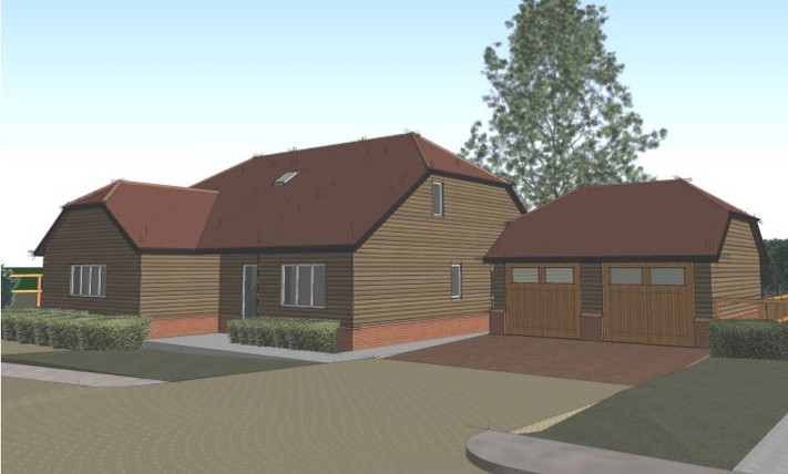 Application submitted for 5 houses in Upton Grey