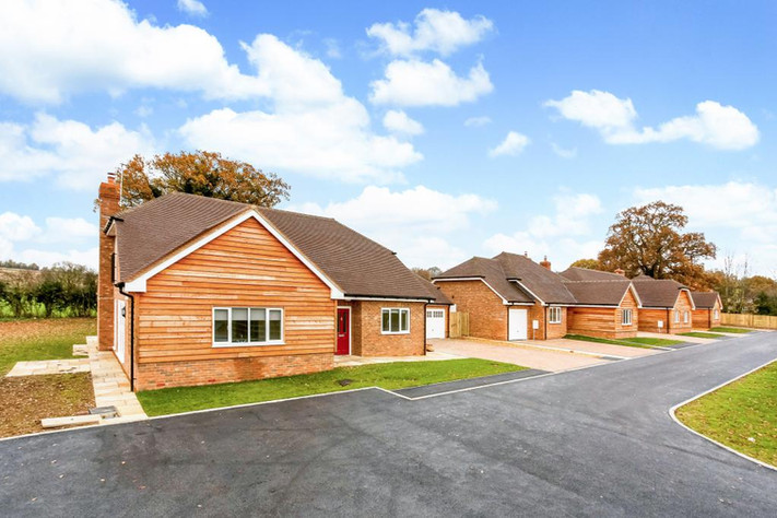 Completion photos of development in Upton Grey