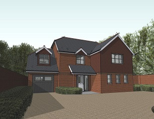 Planning permission received for three dwellings - Viables, Basingstoke