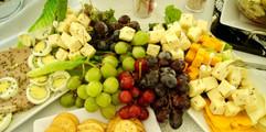 Appetizer Buffet Outdoor Wedding Reception