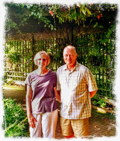 Earl and Donna at Chicago Botanical Gardens