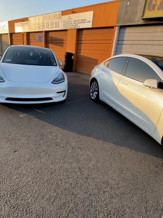 Two Brand New Tesla